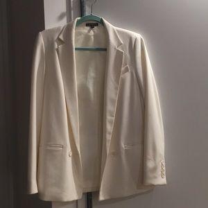 White / Cream Blazer